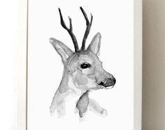 Foldaway Tote - snow sleigh deer blue by VIDA VIDA SSWWC