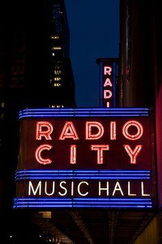 The Radio City Music Hall