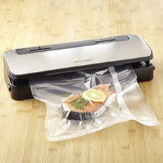 Cuisinart Stainless-Steel Vacuum Sealer | CHEFScatalog.com