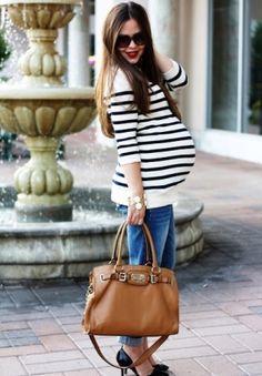 Calças jeans suér fashion para gestantes! http://vilamulher.terra.com.br/calca-jeans-para-gestante-como-usar-8-1-53-316.html