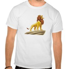 Disney Lion King Mufasa Tee Shirt T-Shirt, Hoodie for Men