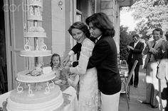 Wedding of Jean-Michel Jarre and Charlotte Rampling -1978