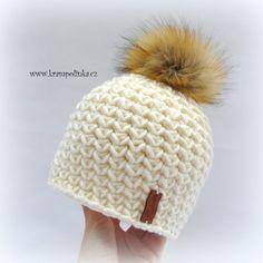 Kulíšek véčkový Tulip Big – Krampolínka Crochet Kids Hats, Free Crochet, Knit Crochet, Scarf Hat, Winter Hats, Crochet Patterns, Knitting, Handmade, Beautiful