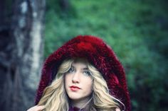 fairytale, fashion, haleigh walsworth, little red riding hood, making magique