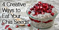 How do you eat your chia seeds? Keep in mind that these little miracle workers are packed full of a number of valuable vitamins and minerals that you need in a daily supply. These seeds...