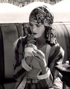 maudelynn:  Myrna Loy, by Alexander Stewart c.1928