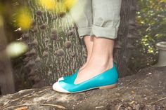 Alexa - Flat loafres  in two colors on Etsy, 3704.42₪ #atlantic-pacific #anna del russo