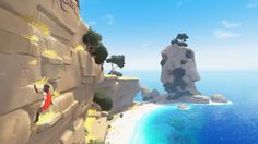 Rime was announced all the way back in 2013 by Tequila Works, who had crafted the promising, though ultimately flawed Deadlight. It looked like a massive step up for them visually, and on top of that, they announced that Rime would bec. Game Environment, Environment Concept, Environment Design, Low Poly, Tequila, Xbox One Games, Ps4 Games, Unreal Engine, Animation Background