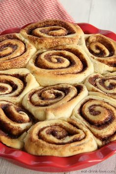 1-Hour Cinnamon Rolls...1 cup milk Heated... add 1/4 cup butter... 3 1/2 cups all-purpose flour, divided... 1/4 cup granulated sugar... 1/2 teaspoon salt... 1 (.25 ounce) package instant yeast... 1 large egg