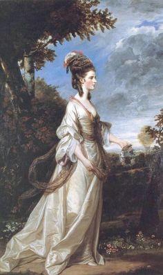 1775 Jane, Countess Harrington by Sir Joshua Reynolds (Harewood House, Yorkshire UK)