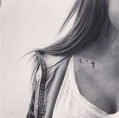 30 Beautiful Bird Tattoos For All The Pretty Girls Who Want To Fly - Trend To Wear