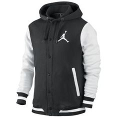c9813ba444 Jordan Varsity Hoodie - Men s - Basketball - Clothing - Black White New Nike  Shoes