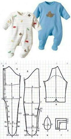 Baby Kids Dress Sewing Patterns New Ideas Baby Dress Patterns, Baby Clothes Patterns, Clothing Patterns, Sewing Baby Clothes, Baby Kids Clothes, Diy Clothes, Baby Sewing Projects, Sewing For Kids, Baby Outfits