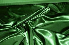 SATIN  POLYESTER  60 WIDE BY THE YARD EMERALD GREEN BRIDESMAIDS SUITS HOME DECOR