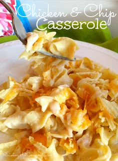 Chicken and Chip Casserole Recipe --> http://www.raininghotcoupons.com/chicken-and-chip-casserole-recipe