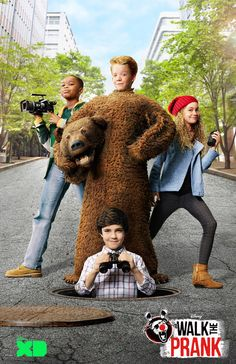 Disney XD's Walk The Prank is an innovative new format that blends scripted comedy with real hidden-camera pranks, Funny Prank Videos, Funny Pranks, Disney Xd, Disney Trips, Orlando Travel, Cartoon Tv Shows, Disney Fanatic, Try Not To Laugh, New Shows
