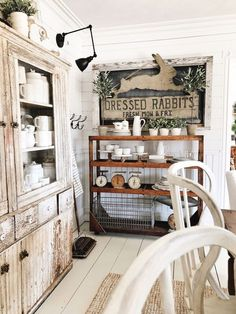 Ideas For Farmhouse Dining Room Buffet Display Decor, Dinning, Farmhouse Dining Room, Dining Room Buffet, Dining Room Decor, Chic Dining Room, Shabby Chic Room, Shabby Chic Dining Room, Rustic Farmhouse Decor