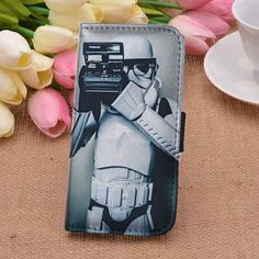 Star Wars 1   Stormtrooper   movie   custom wallet case for iphone 4/4s 5 5s 5c 6 6plus case and samsung galaxy s3 s4 s5 s6 case - superrcek