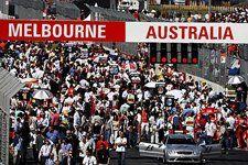 The grid. Formula One World Championship, Rd 1, Australian Grand Prix, Race, Albert Park, Melbourne, Australia, Sunday, 18 March 2007 © Sutton Images. No reproduction without permission
