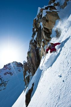 Lynsey Dyer heli skiing at North Cascades. Follow for follow, pin for pin!