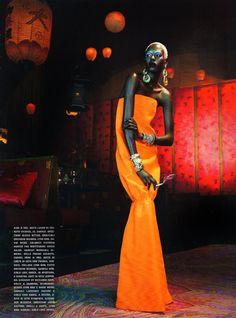 Chanel Iman, Jourdan Dunn & Melodie Monrose for Vogue Italia February 2011 by Emma Summerton (14 photos) - Xaxor