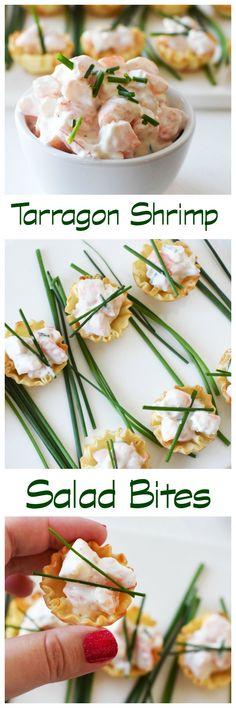 Tarragon Shrimp Salad is a zesty yet creamier shrimp salad. Make this for the lent season or warmer weather. Perfect shrimp salad recipe. via @savvysavingcoup