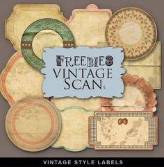 Vintage Style Labels
