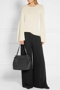 The Row | Sidekick textured-leather shoulder bag | NET-A-PORTER.COM