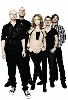 The Cardigans are a Swedish rock band formed in Jönköping, Sweden, in 1992, by guitarist Peter Svensson, bassist Magnus Sveningsson, drummer Bengt Lagerberg, keyboardist Lars-Olof Johansson and lead singer Nina Persson, with the line-up remaining unchanged to this day.