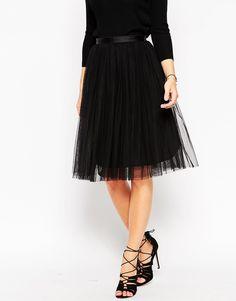 Image 4 ofNeedle & Thread Tulle Ballet Midi Skirt