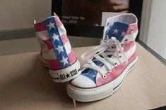 20. Get Patriotic | 30 DIY Ways To Jazz Up Your ConverseSneakers