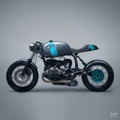 This cafe'd BMW R80 comes from Neustadt's Elemental Custom Cycles—and the fit and finish are exemplary.