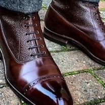Handmade dress lace up formal shoes man wingtip shoes custom made leather shoes sold by LeathersPlanet. Shop more products from LeathersPlanet on Storenvy, the home of independent small businesses all over the world. Ankle Shoes, Lace Up Shoes, Leather Ankle Boots, Leather And Lace, Women's Shoes, Shoes Men, Shoes Style, Suede Shoes, Formal Shoes For Men