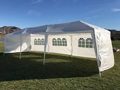 Palm Springs Outdoor 10 x 30 Wedding Party Tent Canopy with 5 Sidewalls Best Tents For Camping, Cool Tents, Camping And Hiking, Tent Camping, Hiking Gear, 20 Person Tent, Best Sleeper Sofa, Sleeper Sofas, Tree Tent