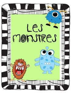 French Monsters and Halloween Reading and Writing Activities  Modify for English conversation class. Have students describe a monster to another student and have them draw the monster on piece of paper. Uses speaking and listening skills.