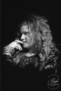 Janis Joplin (by Peter Warrack) - Limited Edition, Archival Print