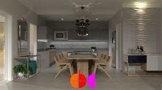 Projeto de Arquitetura e Interiores de Edificação residencial em Hortolândia