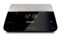 Wake up to sounds from your favorite radio station or a buzzer. FM Digital Tuning with presets. Will Not Work In The United States Or Any Country That Uses 110 Volts. Dual alarm with snooze. Digital Clock Radio, Radio Alarm Clock, Electronics Gadgets, Technology Gadgets, Original Nintendo, Electronic Items, Ipod Nano, Buzzer