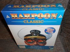 All of the Harpoon games in one collection- Harpoon Classic Anthology naval war strategy game PC CD---  412.85 #burresscollectables