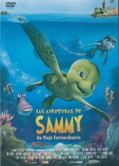 Sammy es una tortuga que nace junto a sus hermanos en una hermosa playa y se enfrenta a la lucha por su supervivencia. No es fácil, porque se dice que sólo una de cada mil lo consigue.  Sammy pasa los primeros diez años de su vida en el mar, pero un día, unos pescadores capturan a Sammy y de repente se convierte en la mascota de un niño. Allí vivirá un sin fin de aventuras con fabulosos compañeros de viaje  Las aventuras de Sammy (Savor)