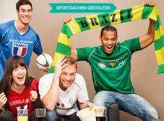 Jetzt Fanartikel für dein Team individuell gestalten und so dein Team zum Weltmeister machen auf www.t-shirt-mit-druck.de