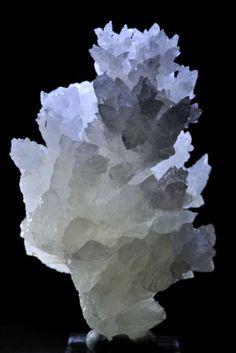 White Aragonite.  Mexico.
