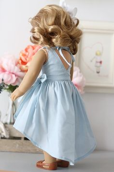 american girl dolls on sale CLICK Visit link to read more - Caring For Your Collectable Dolls. dolls 3 year old Girls Frock Design, Kids Frocks Design, Baby Frocks Designs, Baby Dress Design, Baby Girl Frocks, Frocks For Girls, Dresses Kids Girl, Kids Outfits, Kids Dress Patterns