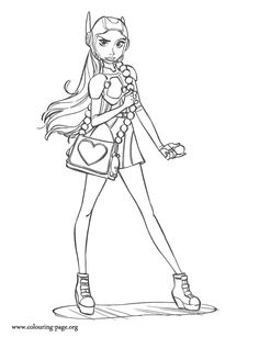 She Is A Chemistry Student And Character In The Upcoming Disney Movie Big Hero 6 Enjoy This Amazing Coloring Sheet For Kids