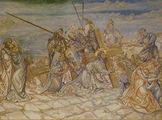 Leonard Foujita「十字架を背負うキリスト(Chapelle Foujita 壁画部分)」