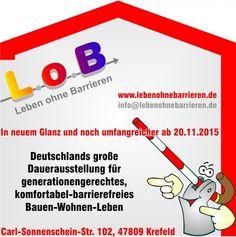 Hinweis auf das neue L.o.B.-Ausstellungskonzept