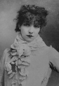"""Sarah Bernhardt.  (22/23 October 1844 – 26 March 1923) was a French stage and early film actress, and has been referred to as """"the most famous actress the world has ever known."""""""
