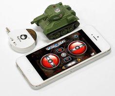 iPad & iPhone Controlled RC Battle Tank is the Future of Micro Warfare