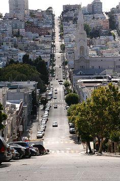 USA San Francisco street view.
