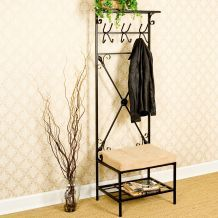 hall tree bench from overstock, $136.79